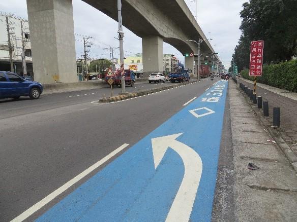 高市交通局改善交通工程 籲路口慢看停