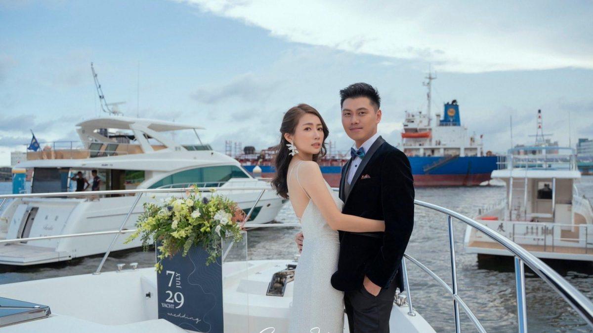 艇浪漫的婚禮! 11/21海洋局推「港灣聯合婚禮」
