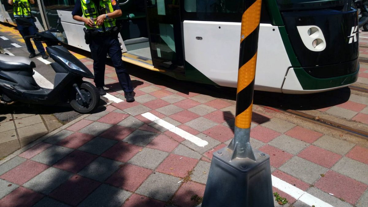 高雄輕軌撞不停 交通局加速智慧預警系統建置