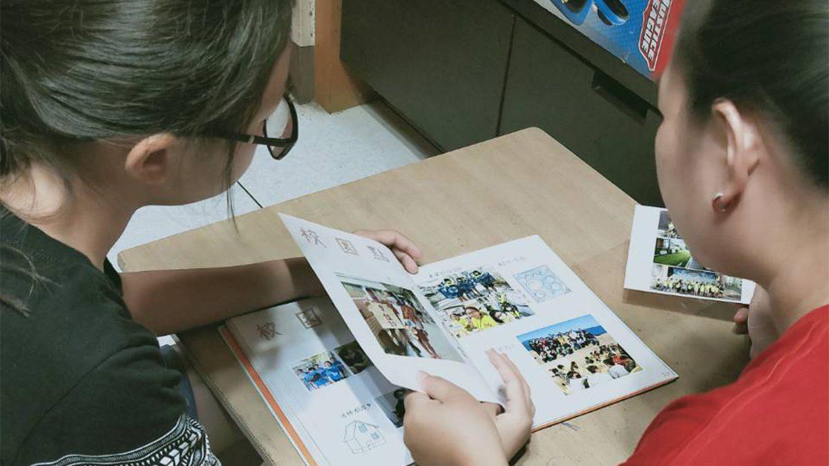桂林國小畢業班手工小書記錄6年回憶