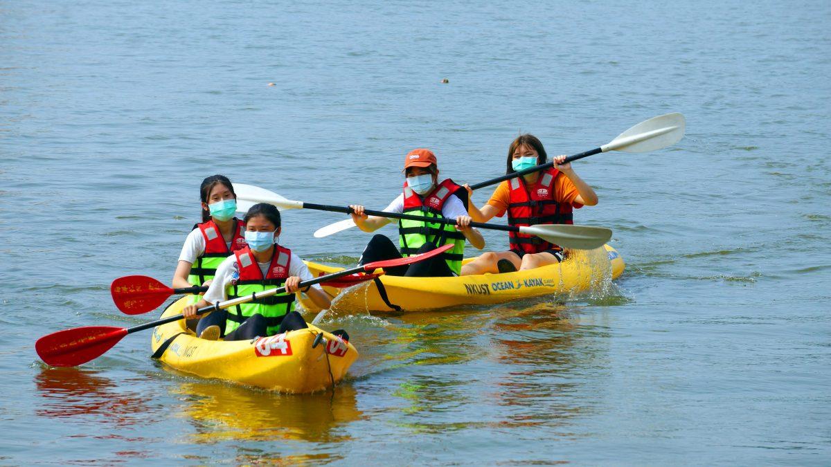 左中首開「蓮潭樂水」課程 學生邊玩邊學直呼超棒的體驗