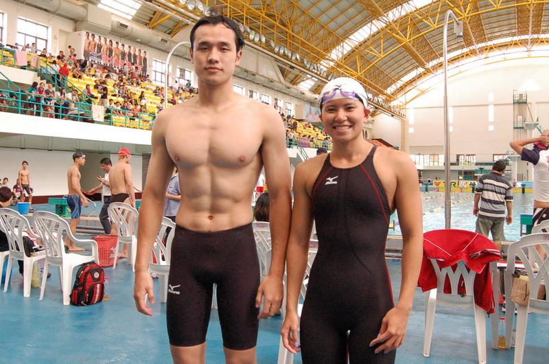 全運會高雄市游泳代表隊 王紹安、楊金桂入列