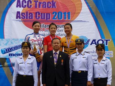 2011年亞洲盃自由車場地賽 台灣豪取2金4銀1銅