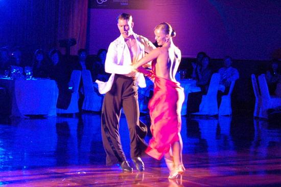 世界盃運動舞蹈10項全能錦標賽冠軍來台表演