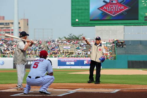 MLB全明星台灣大賽 高雄首戰登場