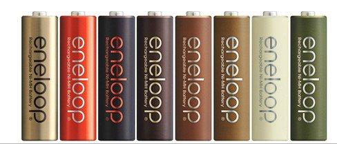 SANYO推出秋季限定巧克力色系充電電池