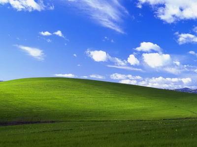 係金的!微軟XP經典桌面 攝自加州