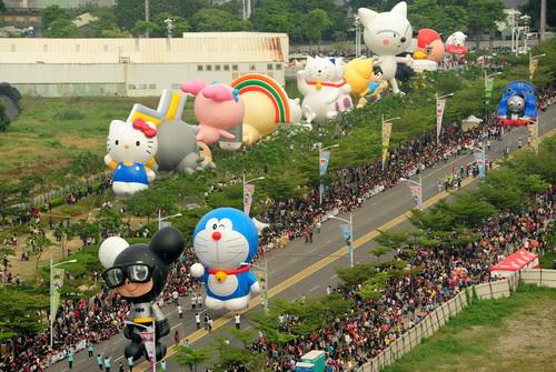 亞洲唯一大氣球遊行 夢時代登場