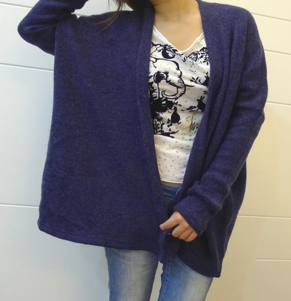一件有型的羊毛罩衫就能穿搭出可愛又禦寒的LOOK~!