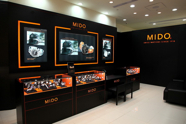 MIDO美度表Baroncelli永恆系列錶展 高雄夢時代開展