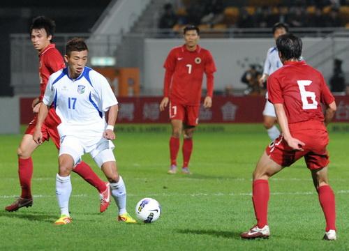 中港友誼賽》中華隊陣腳亂失5球 令陳柏良很失望