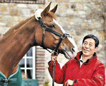 日本馬術傳奇 71歲法華津寬再戰奧運