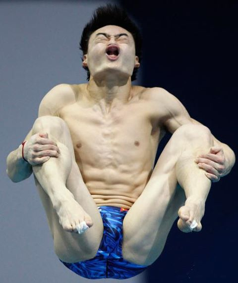 你所不知道的關於跳水選手的恐懼