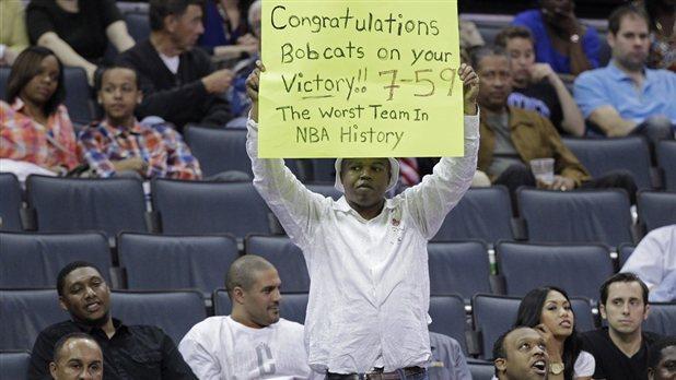 7勝59負 山貓列NBA最爛球隊