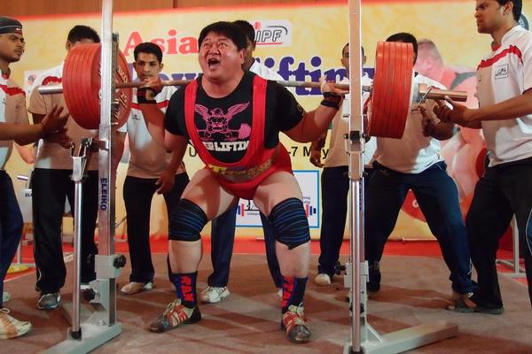 亞洲盃健力賽 中華隊奪31金