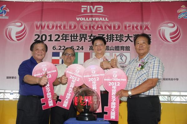 女排大獎賽 席捲南台灣