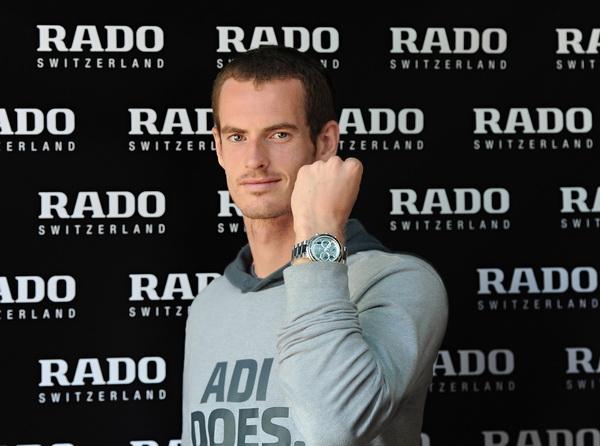 雷達表宣佈英國頭號網球好手 安迪.穆雷成為品牌代言人