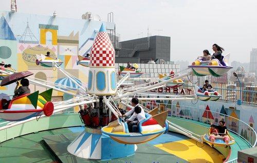 大立FUN暑假  空中樂園免費玩