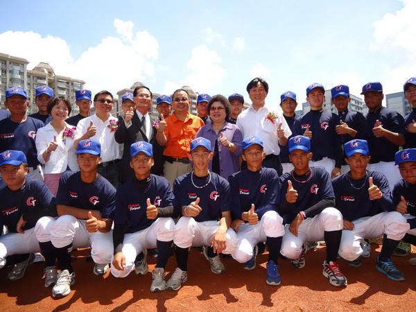 陳菊嘉勉2012年IBAF世界青少棒錦標賽中華代表隊