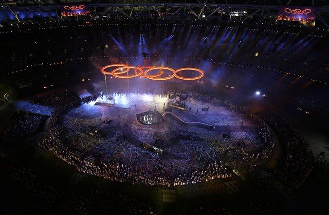 奧運開幕 秀英倫傳奇
