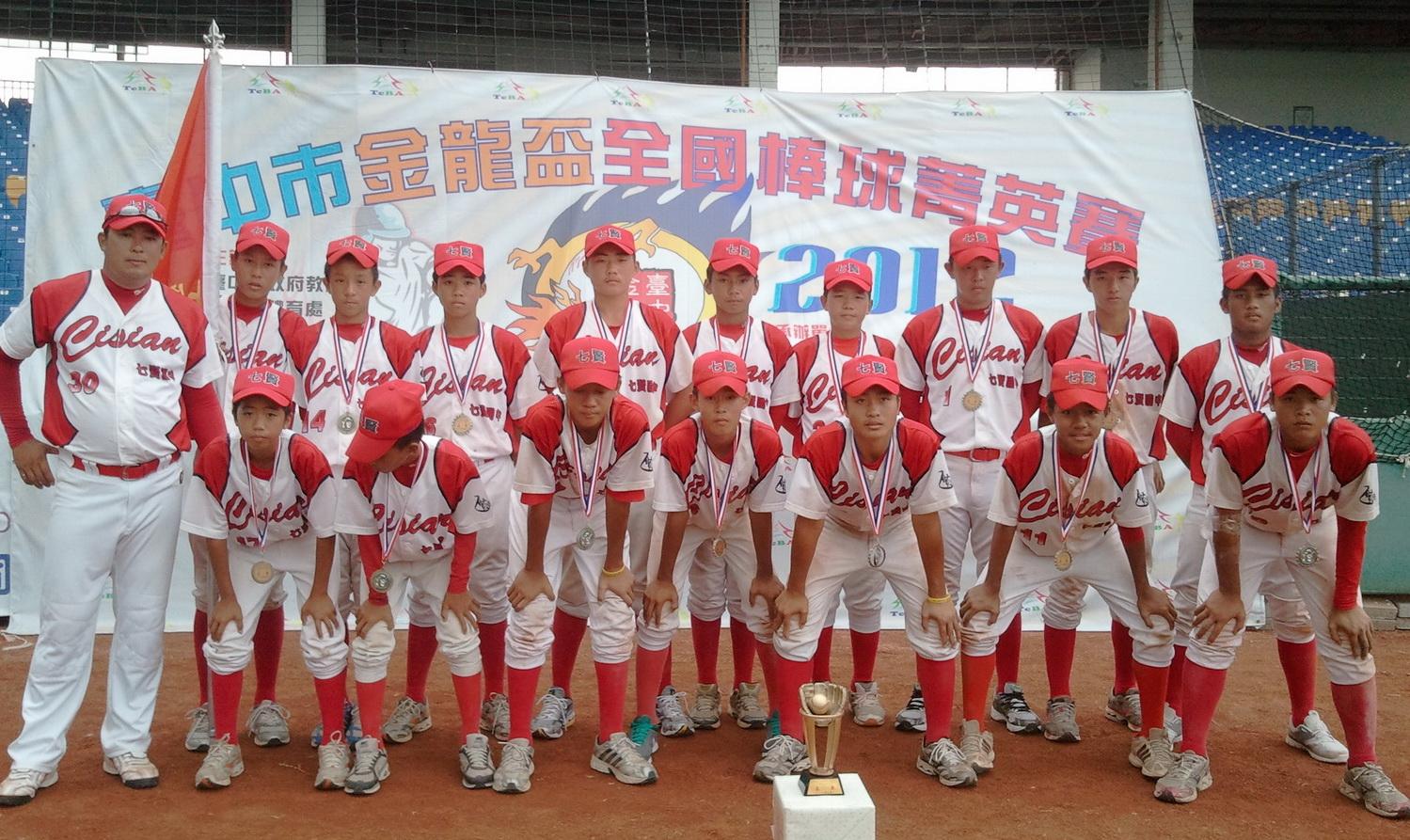 七賢棒球成軍2年全國決賽初體驗