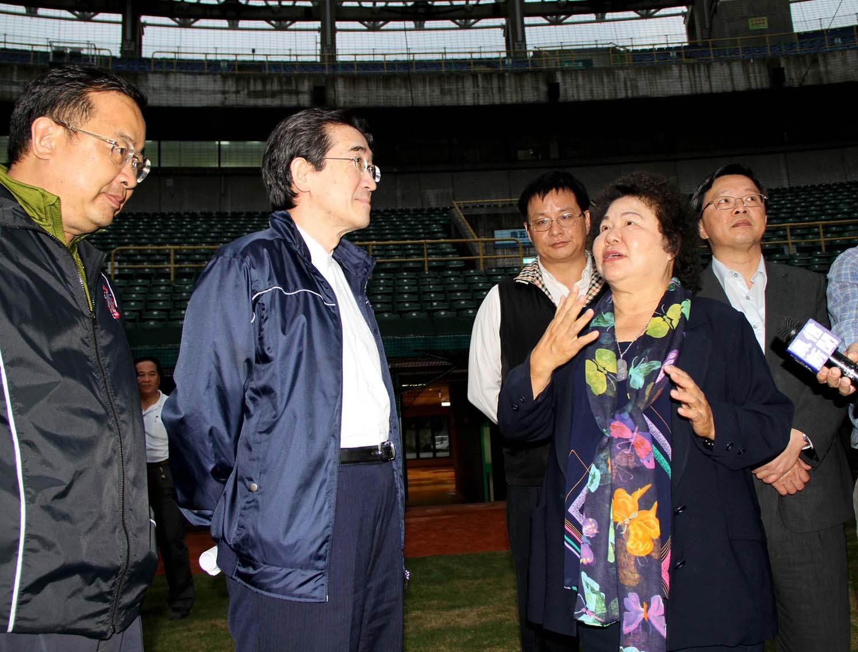 陳菊:全力協助促職棒永續發展