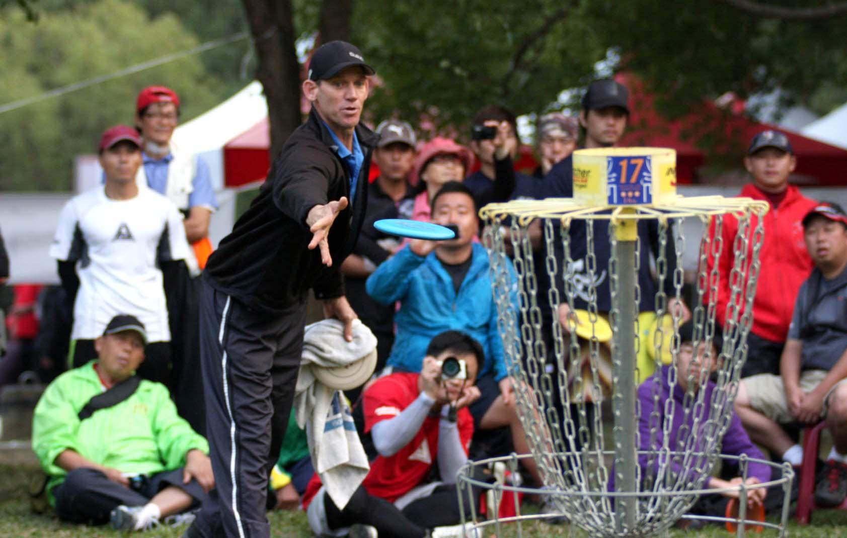 第三屆亞洲飛盤高爾夫錦標賽 美國選手稱霸