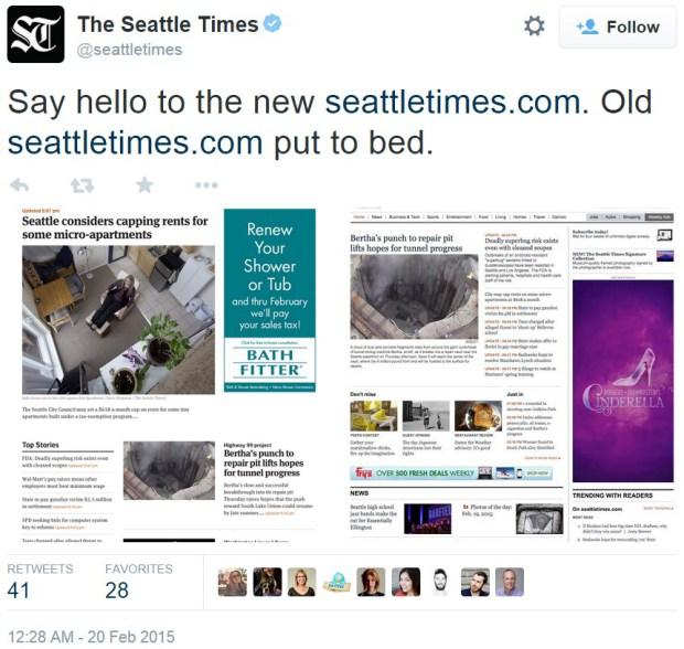 「西雅圖時報」X MULE 設計團隊:網站改版的背後故事