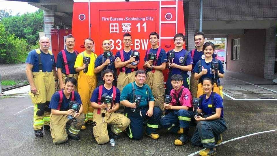 火場搜救利器 MSA熱顯像儀訓練