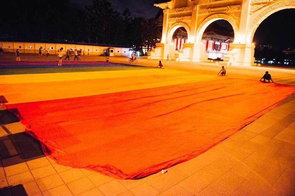 彩虹公民,同治國家─宣示我們的國、升起彩虹的旗