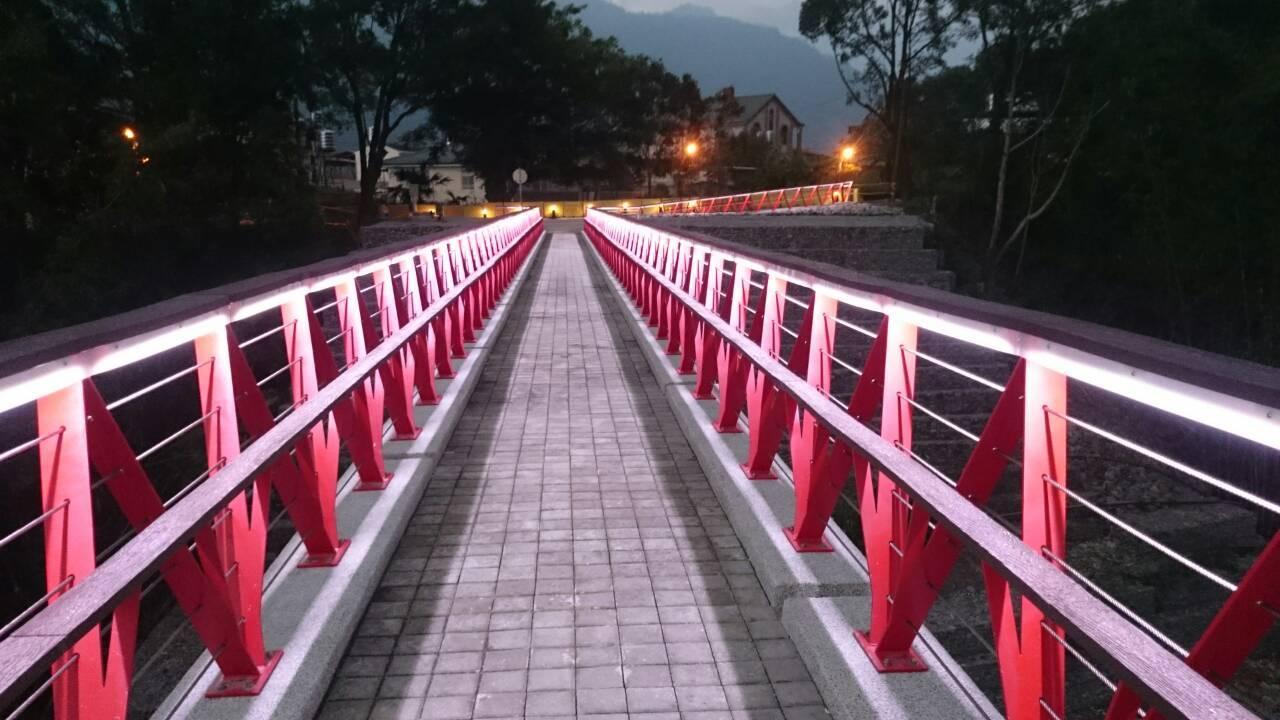那瑪夏瑪星哈蘭人行景觀橋開放通行
