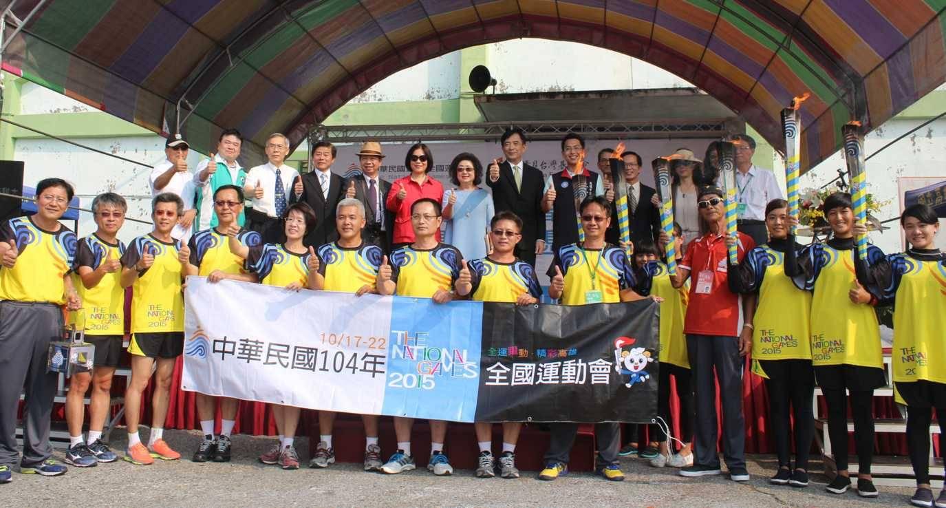 「船」遞聖火 讓世界看見台灣