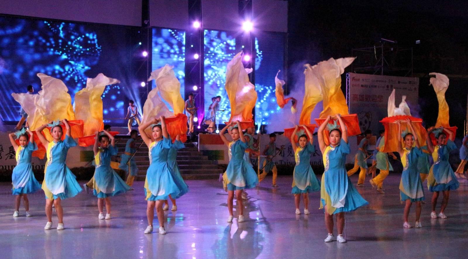 104全國運動會開幕總彩排 精彩震撼表演藝術與視覺饗宴