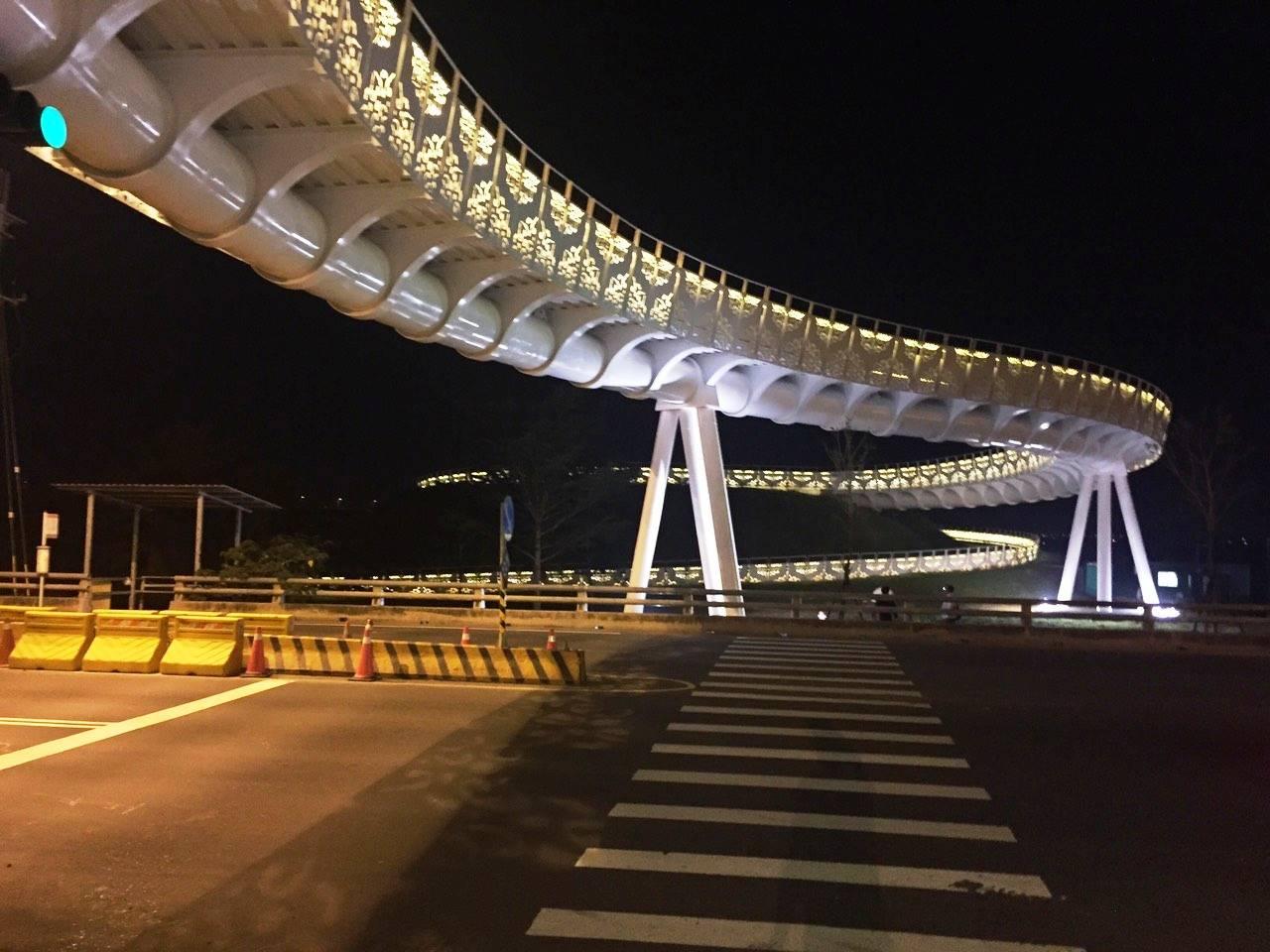 高雄市第4座自行車橋在這啦