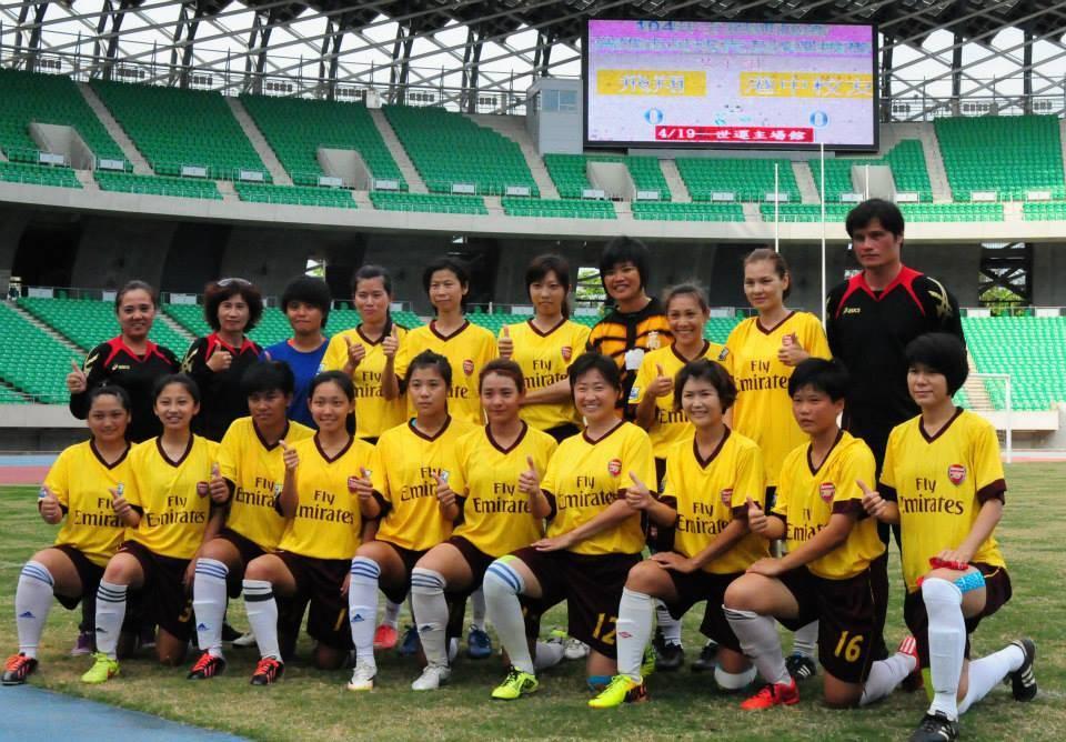 全國運動會足球開踢 高市男女足誓奪金牌