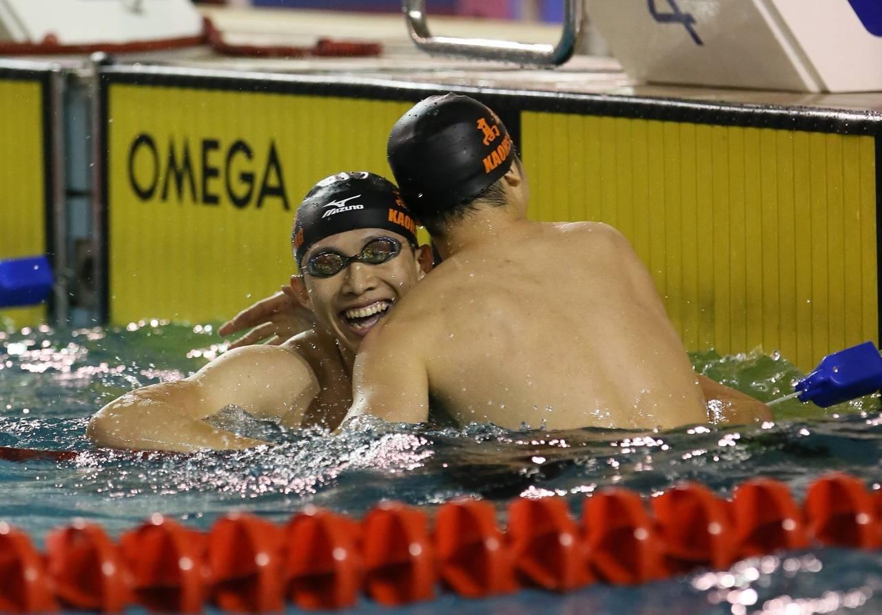 破紀錄不缺席 高雄泳將王郁濂金牌到手
