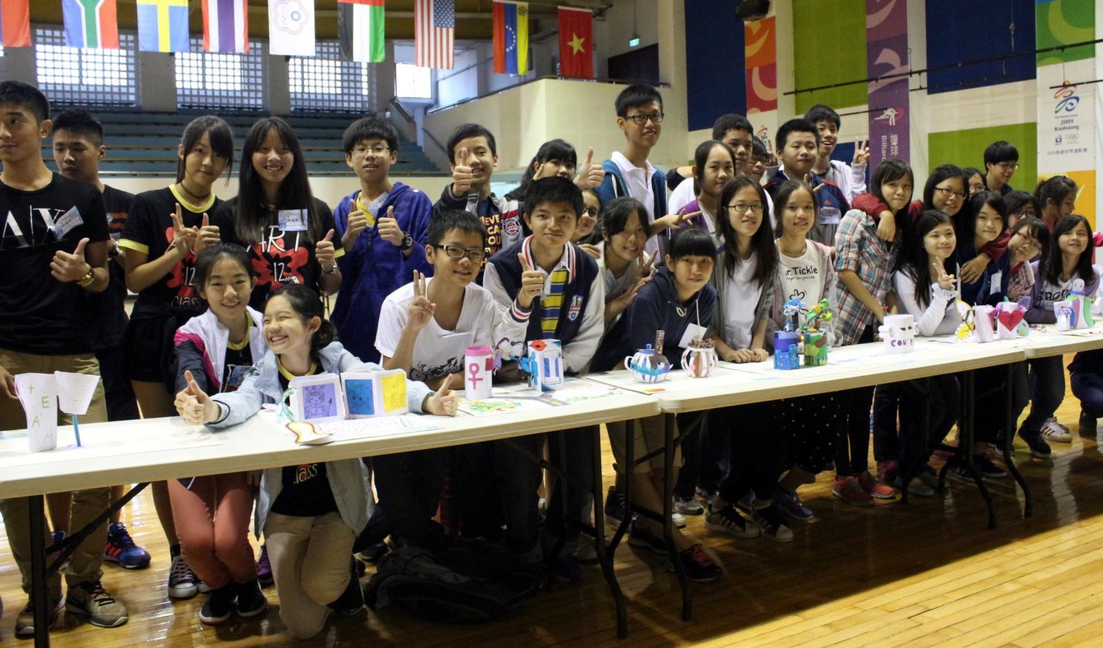 2015高雄市國中小創意運動會腦力競賽 展現台灣意象