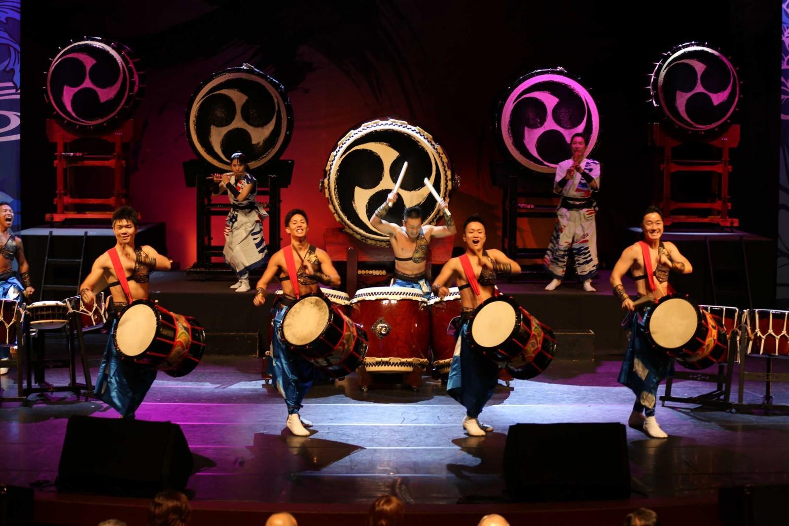 舞太鼓飛鳥組 舉辦行動音樂會