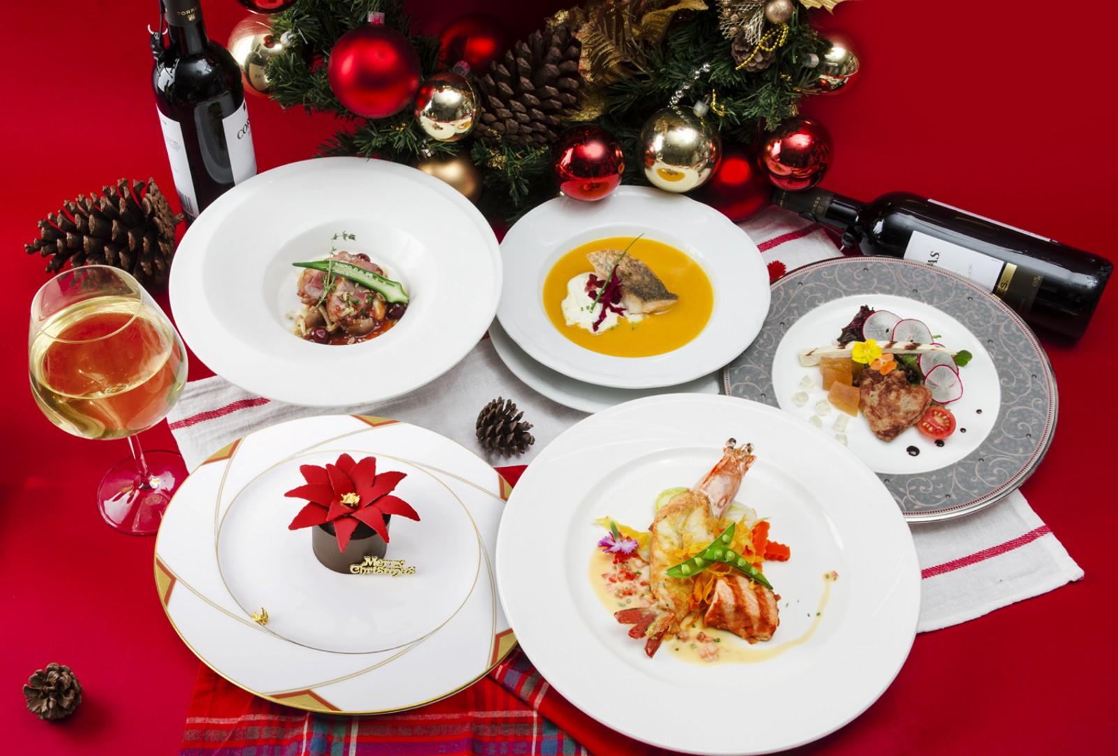 君鴻聖誕瘋派對 金牌主廚推限量藝術甜點加持