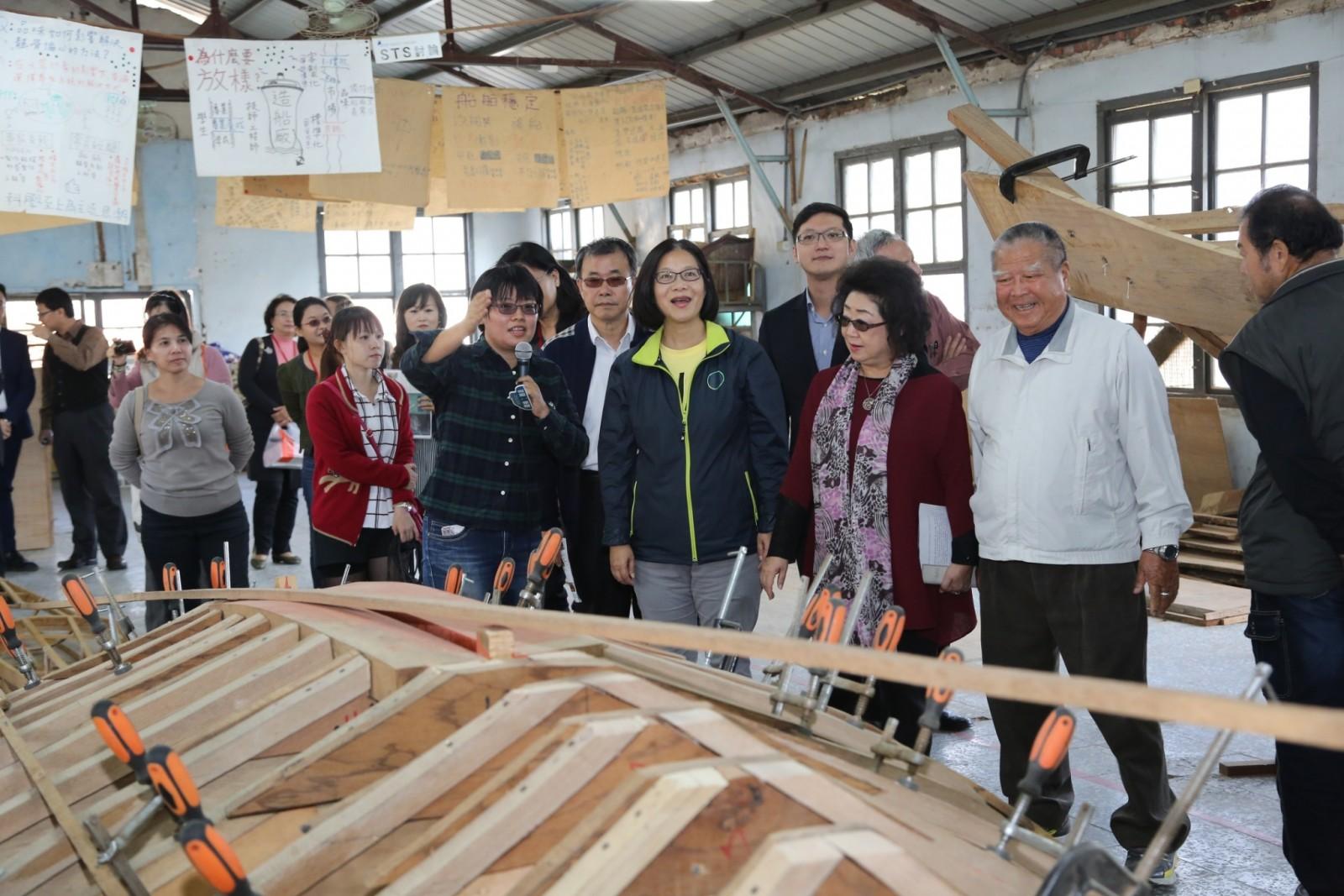 旗津舢舨文化保存基地綠化工程完工