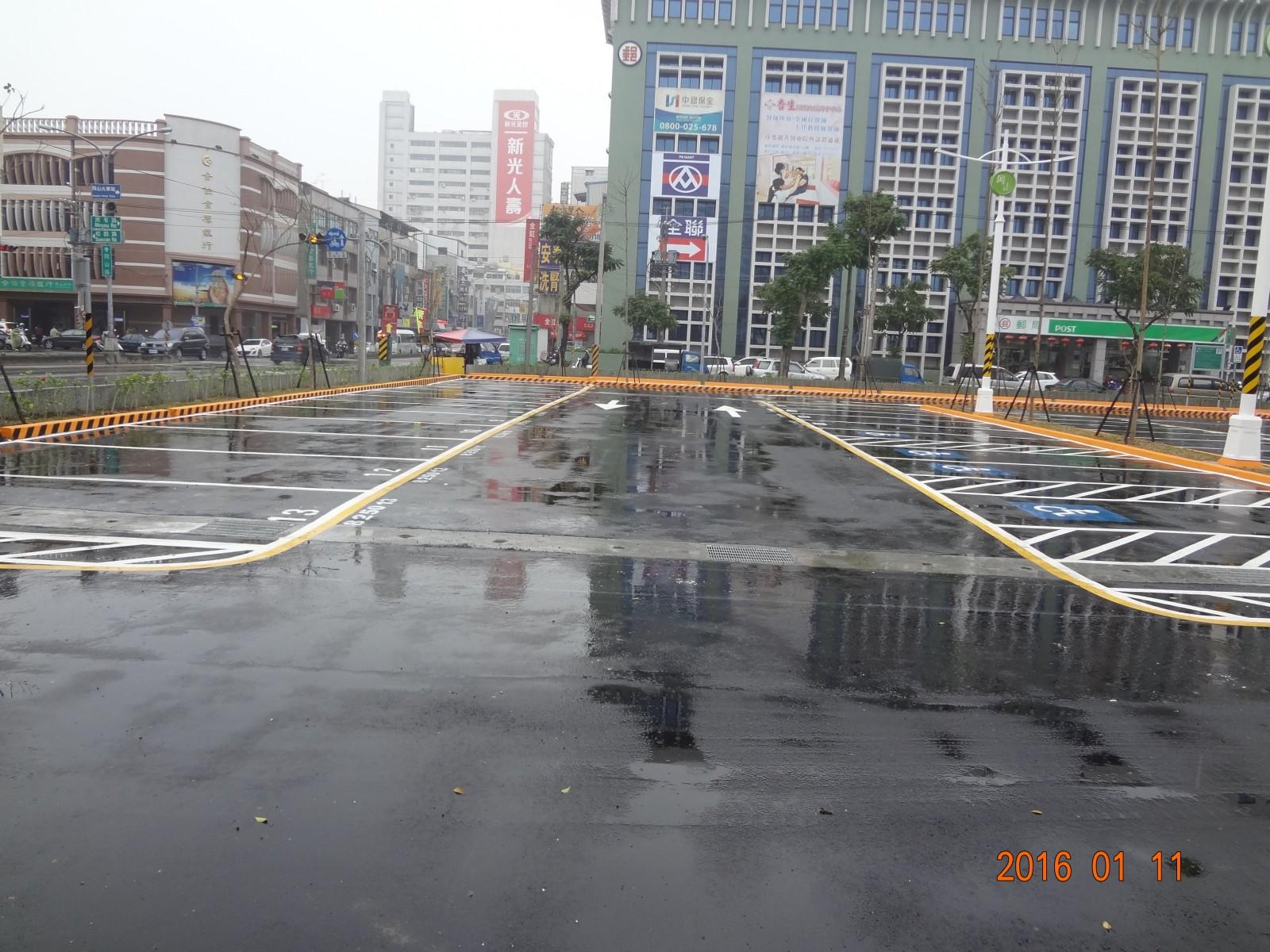 岡山公有平面停車場開放民眾停車