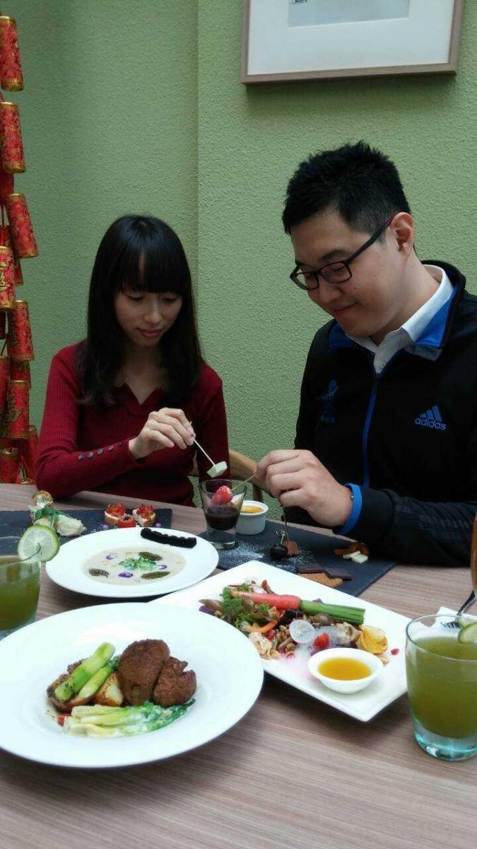 法式優雅餐桌藝術盡在蔬活食堂團圓饗宴