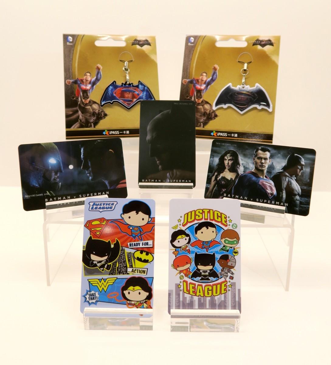 蝙蝠俠對超人限量一卡通30日發行