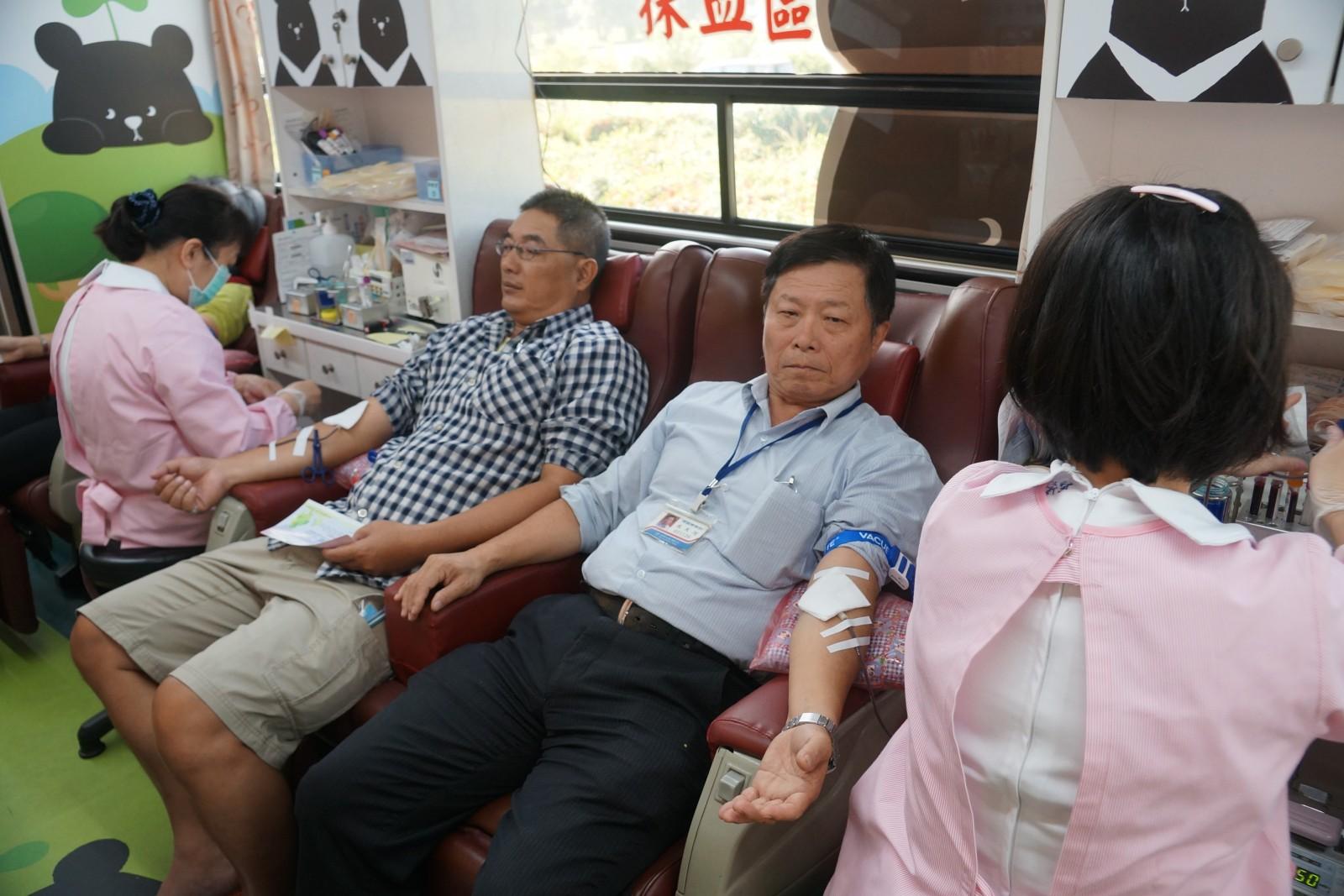 中油煉製事業部再次舉辦熱情公益捐血