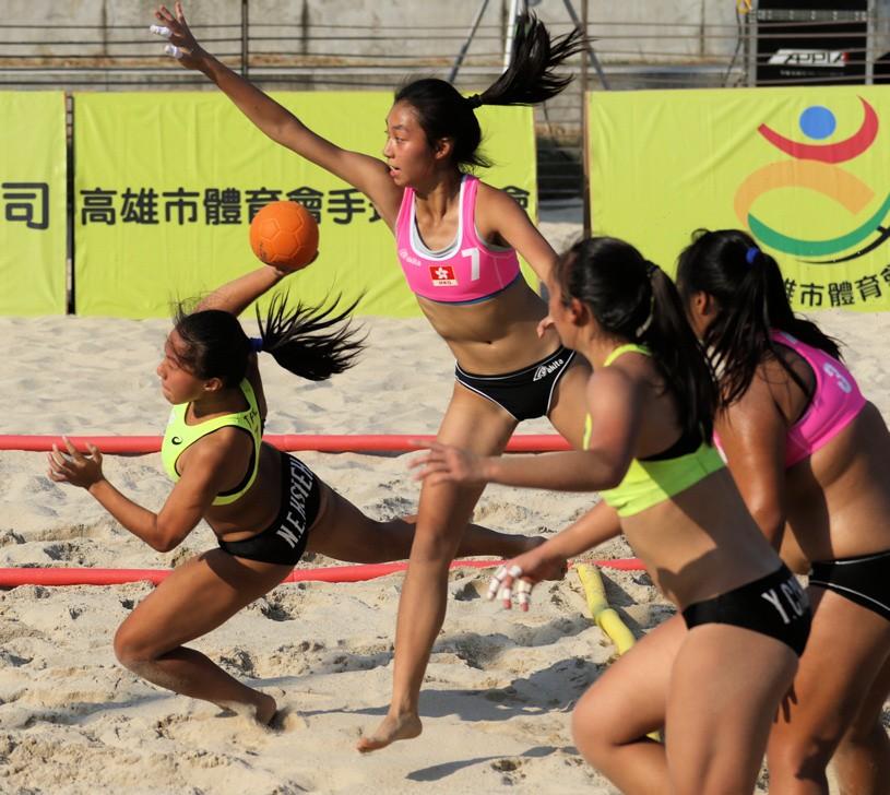 港都盃國際沙灘手球邀請賽 中華男A、中華女B暫領先
