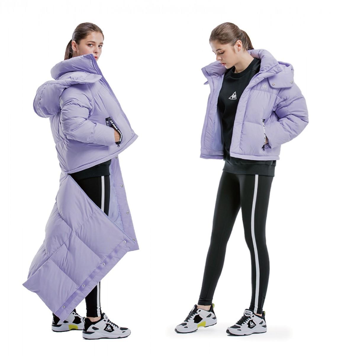 翻玩羽絨大衣 搭出專屬時尚態度