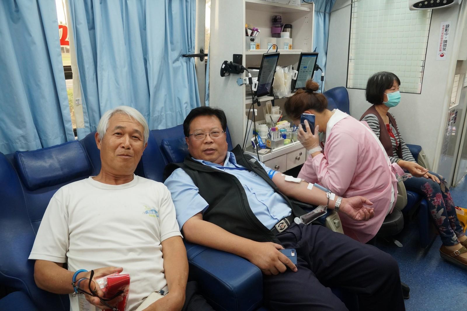 中油百萬CC公益捐血 募得近6萬CC熱血