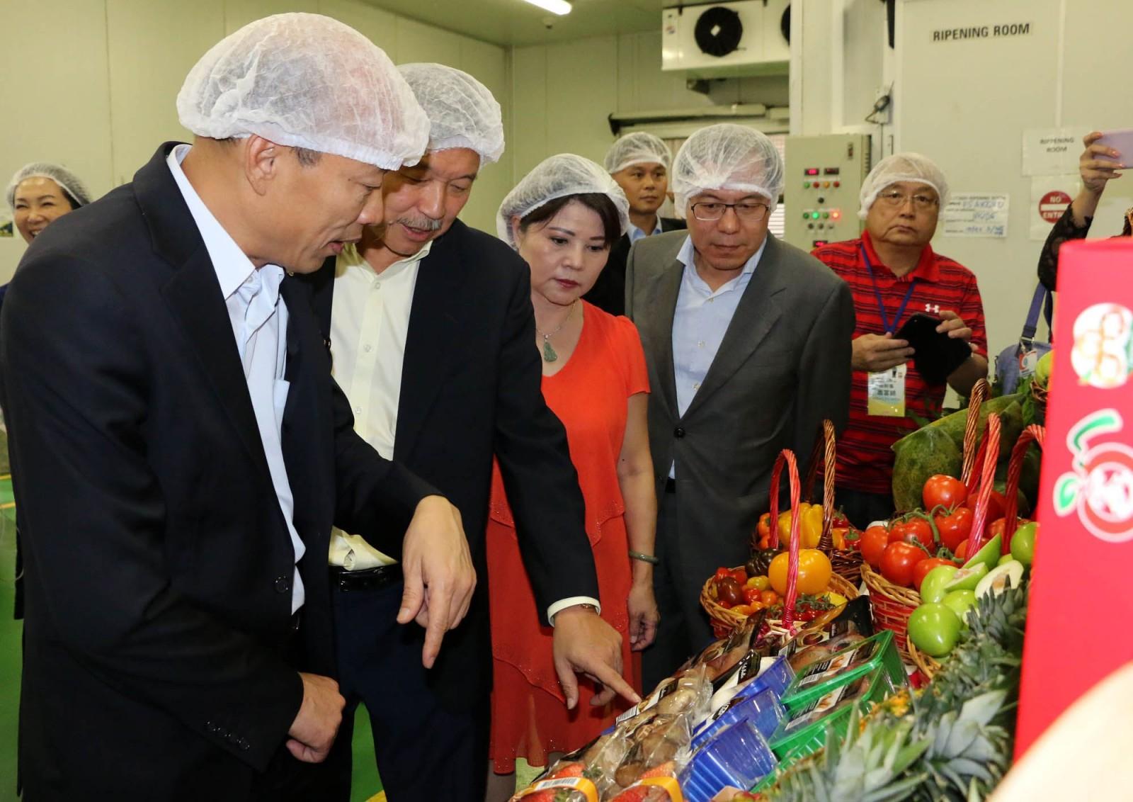 百美超市簽3年農漁合作協議 韓國瑜:外銷訂單意義重大