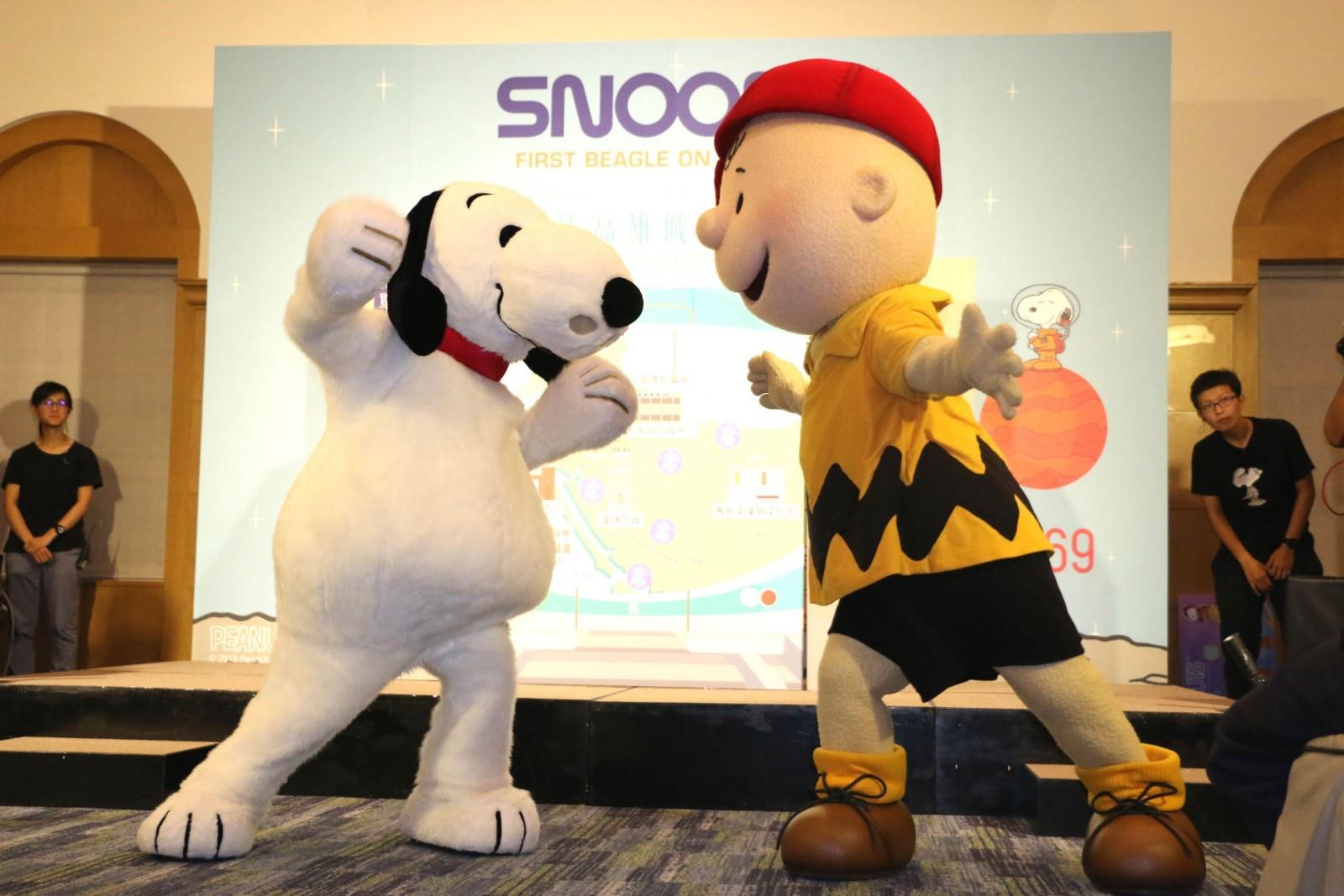 Snoopy城市探險 暑假高雄登場