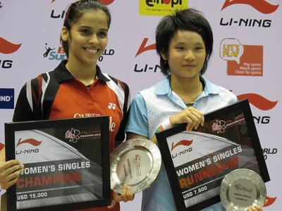 戴資穎閃耀新加坡羽球超級賽